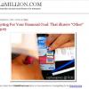 Guest Post on Nil2Million.com: Budgeting