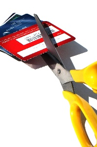 Cutting Credit Cards with Scissors